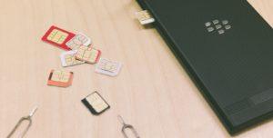 SIMカードの外見