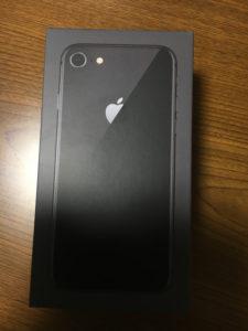 iPhone8のボックス外装