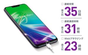 おすすめスマホ〜zenfone max pro