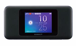 WiMAX「W06」の外見