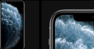 iPhone11のディスプレイ