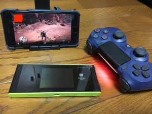 PS4をiPhoneでモンハン
